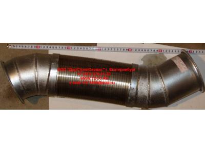 Гофра-труба выхлопная 8х4 d=120 H2/H3 HOWO (ХОВО) WG9731540002 фото 1 Ангарск
