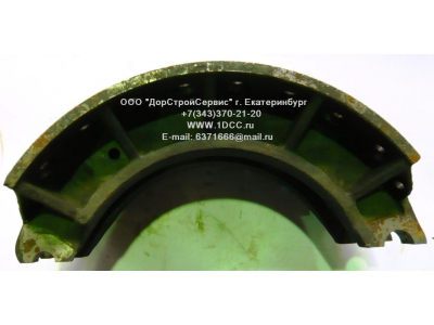 Колодка тормозная задняя (металл, без накладок) H HOWO (ХОВО) WG199000340061 фото 1 Ангарск