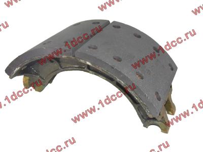 Колодка тормозная задняя с накладками H2/H3 HOWO (ХОВО) WG199000340061 фото 1 Ангарск