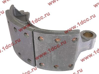 Колодка тормозная передняя с накладками (металл) H HOWO (ХОВО) WG199000440031 фото 1 Ангарск