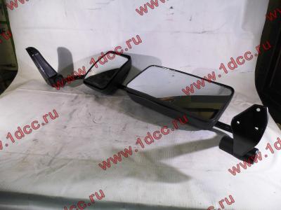 Зеркало заднего вида левое в сборе (на металл. стойке) H2/H3 HOWO (ХОВО) WG1842888010/2 L фото 1 Ангарск