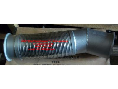Гофра-труба выхлопная 8х4  H2/H3 HOWO (ХОВО) WG9731540012 фото 1 Ангарск