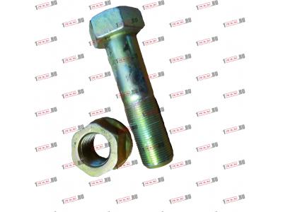 Болт крепления прямой реактивной тяги короткий H2/H3 HOWO (ХОВО) 190003803974 фото 1 Ангарск