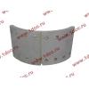Колодка тормозная задняя с накладками H2/H3 HOWO (ХОВО) WG199000340061 фото 2 Ангарск