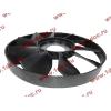 Вентилятор радиатора на гидромуфту d-590 H HOWO (ХОВО) VG1500060047 фото 3 Ангарск