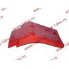 Брызговик передней оси правый H2 красный HOWO (ХОВО) WG1642230004 фото 3 Ангарск