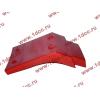 Брызговик передней оси правый H2 красный HOWO (ХОВО) WG1642230004 фото 4 Ангарск